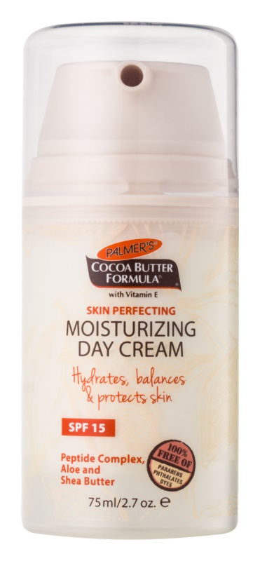 Palmer's Face & Lip Cocoa Butter Formula krem nawilżający na dzień SPF 15