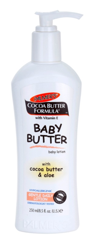 Palmer's Baby Cocoa Butter Formula hypoalergénne telové mlieko s vitamínom E