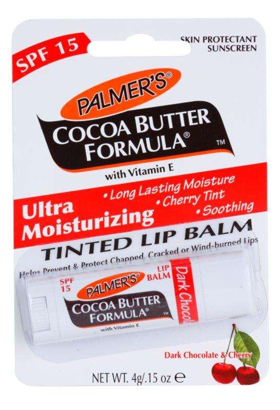 Palmer's Face & Lip Cocoa Butter Formula tónovací hydratační balzám na rty SPF 15