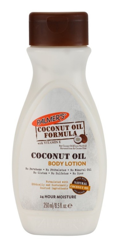 Palmer's Hand & Body Coconut Oil Formula leite corporal hidratante com vitamina E