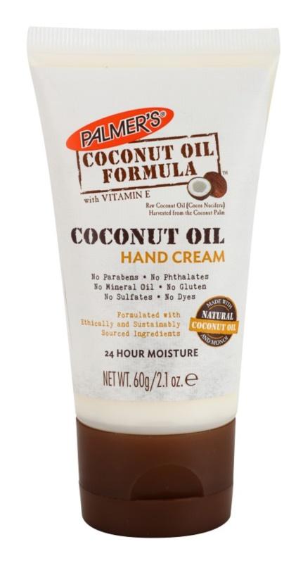 Palmer's Hand & Body Coconut Oil Formula crème hydratante mains