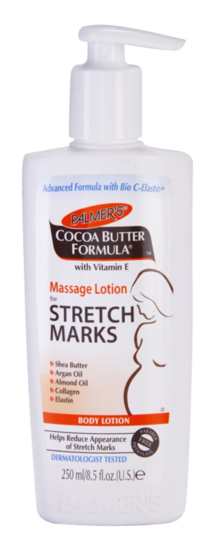 Palmer's Pregnancy Cocoa Butter Formula lapte de corp pentru masaj impotriva vergeturilor