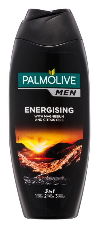 Palmolive Men Energising Body Wash for Men 3 In 1