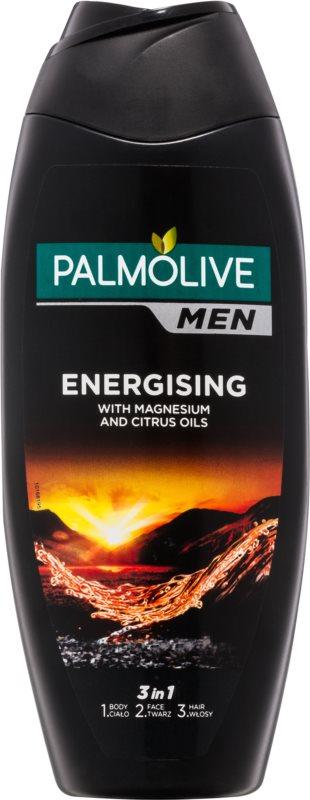 Palmolive Men Energising gel de ducha para hombre 3 en 1