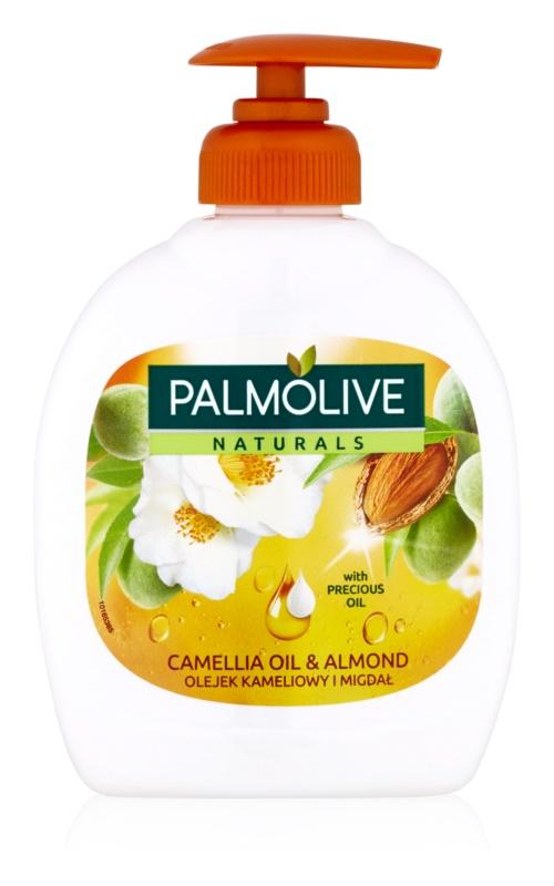 Palmolive Naturals Camellia Oil & Almond рідке мило для рук