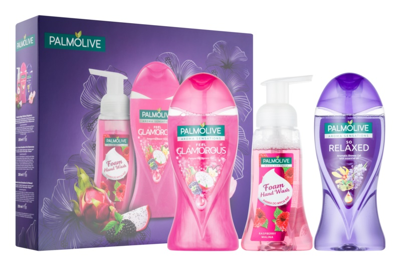 Palmolive Aroma Sensations Feel Glamorous Cosmetic Set I.
