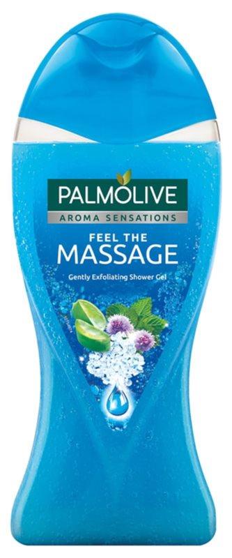 Palmolive Aroma Sensations Feel The Massage gel za prhanje s piling učinkom