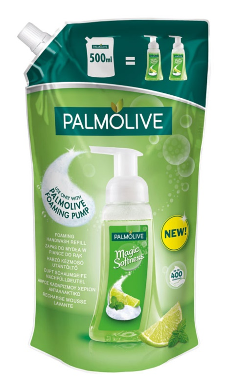 Palmolive Magic Softness Lime & Mint Sapun spuma pentru maini rezervă