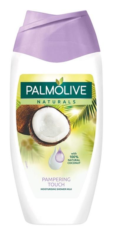 Palmolive Naturals Pampering Touch sprchové mlieko s kokosom