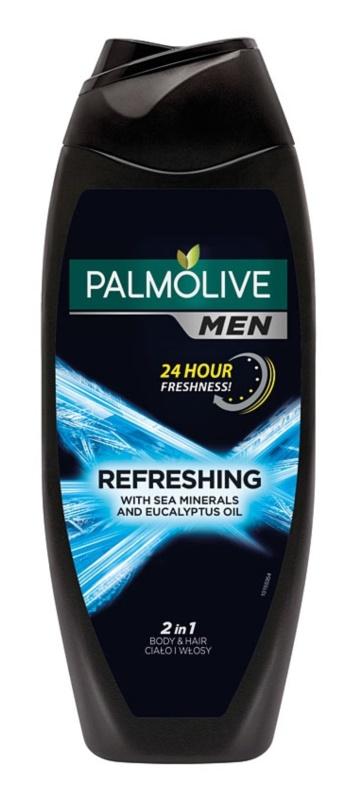 Palmolive Men Refreshing гель для душа для чоловіків 2 в 1