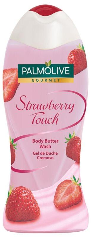 Palmolive Gourmet Strawberry Touch sprchové máslo