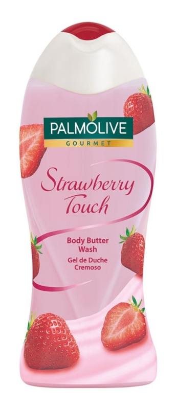 Palmolive Gourmet Strawberry Touch sprchové maslo