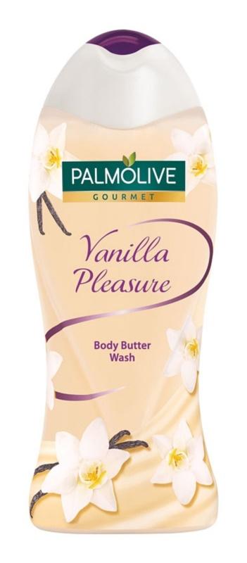Palmolive Gourmet Vanilla Pleasure gel de dus imbogatit cu unt