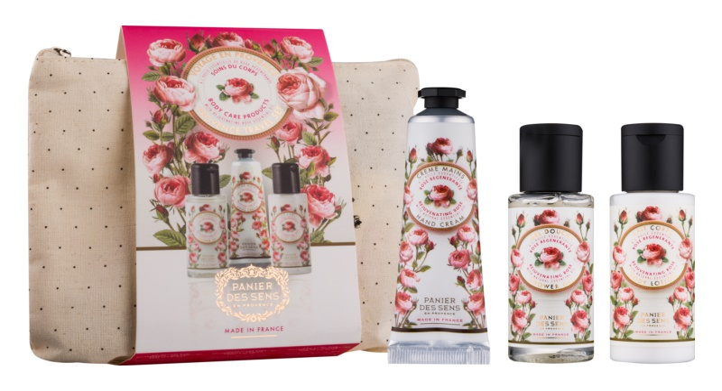 Panier des Sens Rose kozmetični set I.