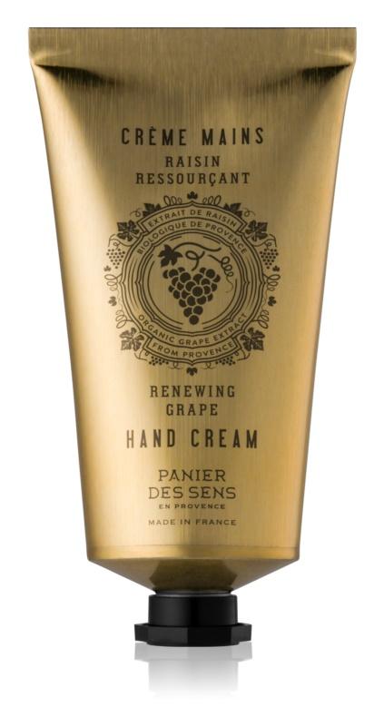 Panier des Sens Renewing Grape crema de maini