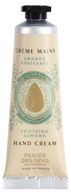 Panier des Sens Almond łagodzący krem do rąk