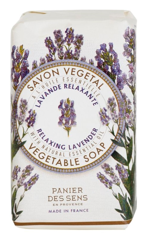 Panier des Sens Lavender relaxační rostlinné mýdlo