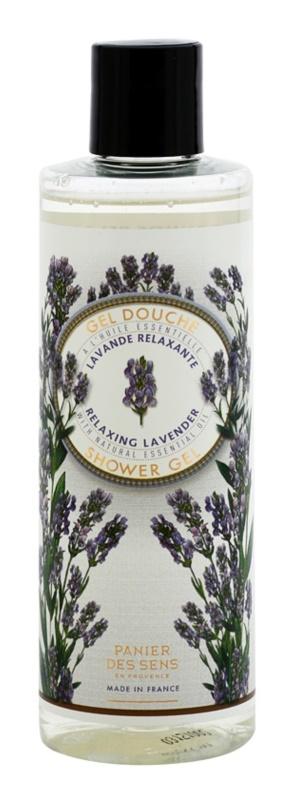 Panier des Sens Lavender relaksujący żel pod prysznic Relaksujący żel pod prysznic