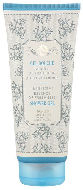 Panier des Sens Mediterranean Freshness sprchový gel s extrakty z mořských řas