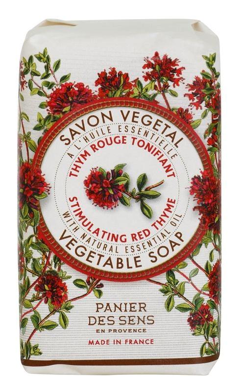 Panier des Sens Red Thyme sapun pe baza de plante revigorante