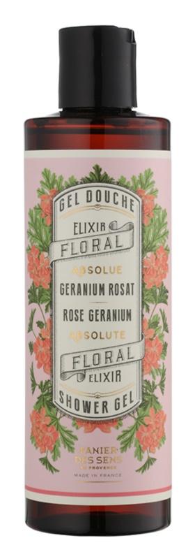 Panier des Sens Rose Geranium gel de ducha
