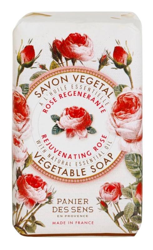 Panier des Sens Rose regenerarea cu sapun pe baza de plante