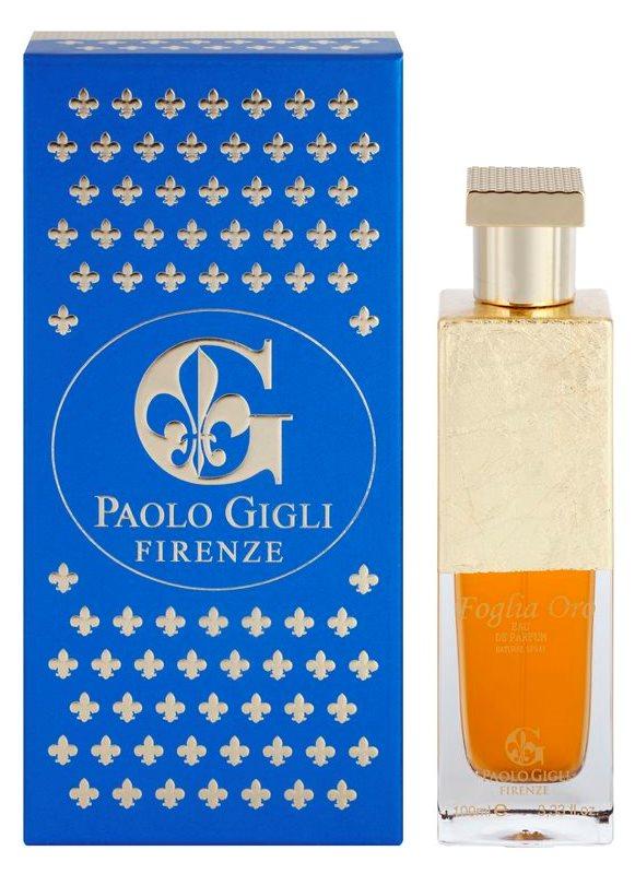Paolo Gigli Foglio Oro Eau de Parfum para mulheres 100 ml