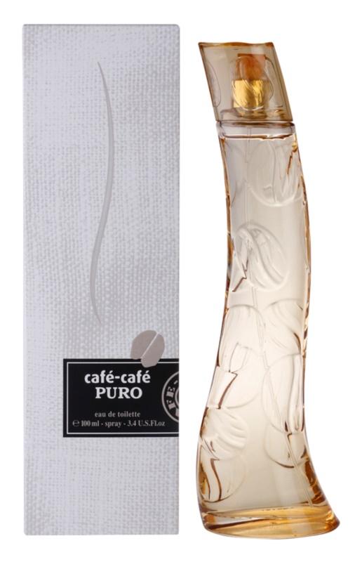 Parfums Café Café-Café Puro eau de toilette pentru femei 100 ml