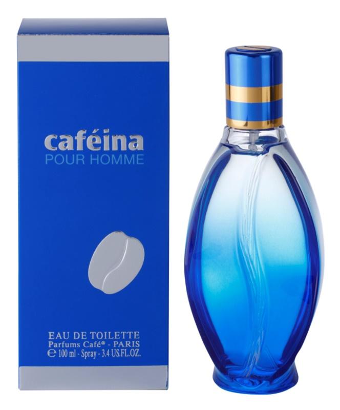 Parfums Café Caféina Pour Homme Eau de Toilette für Herren 100 ml