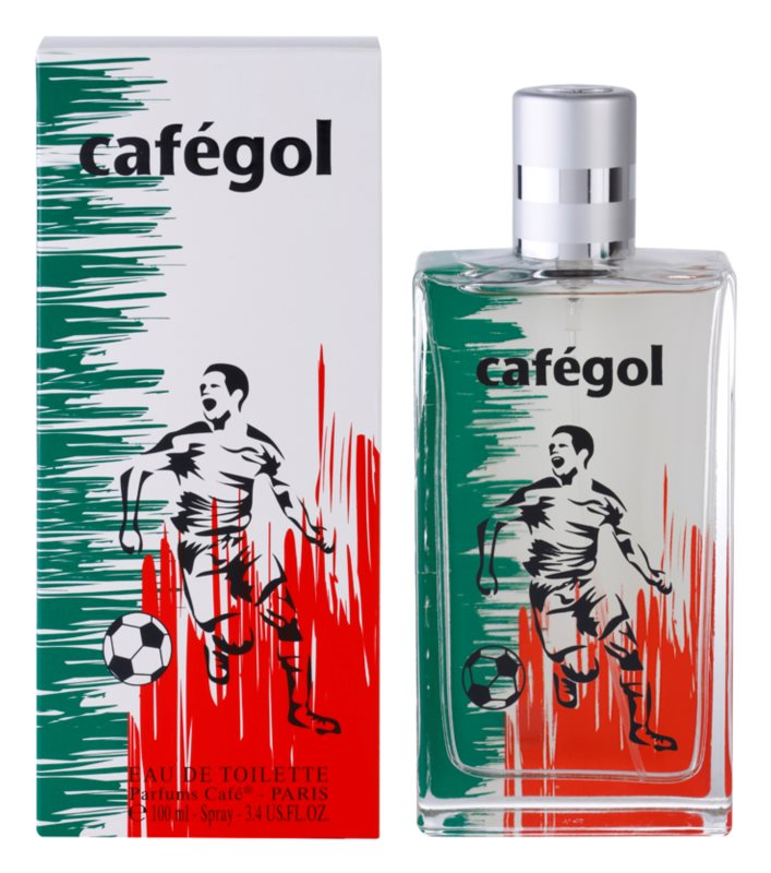 Parfums Café Cafégol Mexico eau de toilette pour homme 100 ml