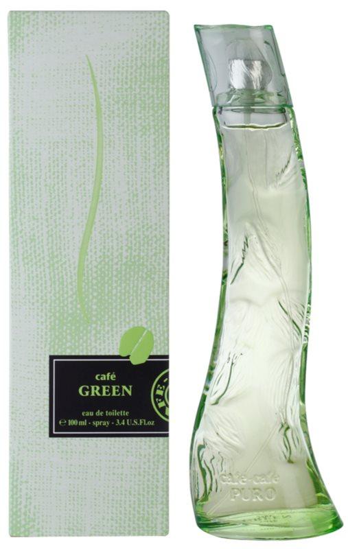 Parfums Café Café Green Eau de Toilette for Women 100 ml