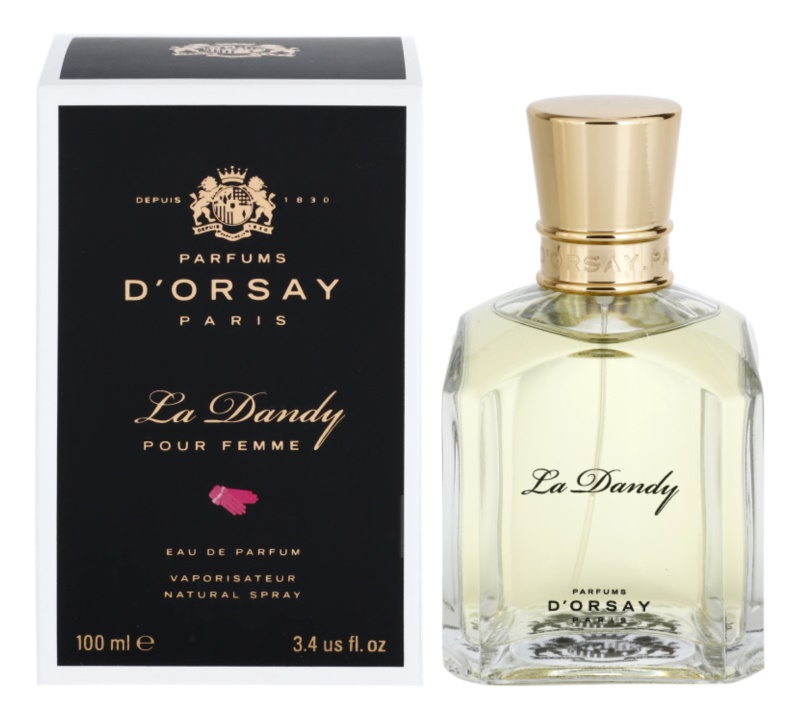 Parfums D'Orsay La Dandy Pour Femme Eau de Parfum for Women 100 ml