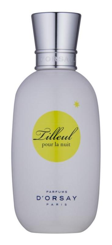 Parfums D'Orsay Tilleul pour la Nuit frissítő víz nőknek 100 ml
