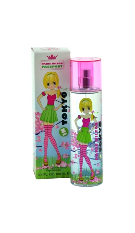 Paris Hilton Passport In Tokyo eau de toilette pentru femei 100 ml