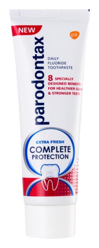 Parodontax Complete Protection Extra Fresh zubní pasta s fluoridem pro zdravé zuby a dásně