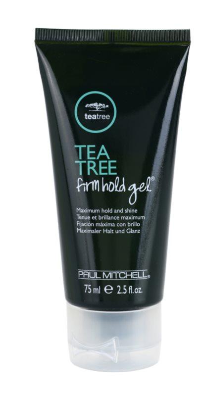 Paul Mitchell Tea Tree gel na vlasy silné zpevnění