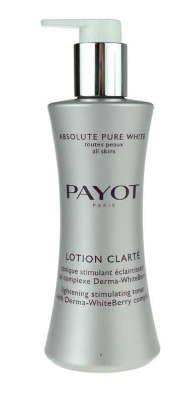 Payot Absolute Pure White pleťová voda proti pigmentovým skvrnám