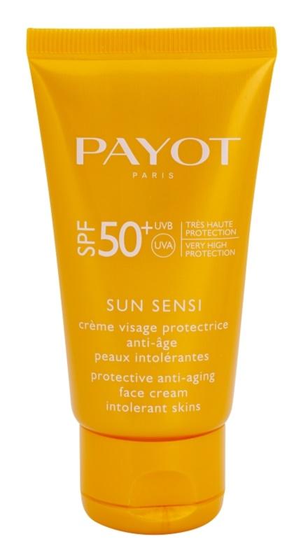 Payot Sun Sensi захисний крем для обличчя проти старіння інтолерантної шкіри SPF 50+