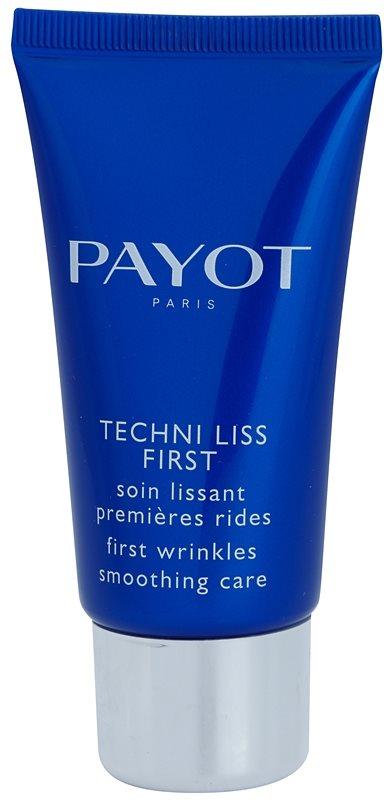 Payot Techni Liss crema alisadora para las primeras señales de envejecimiento de la piel