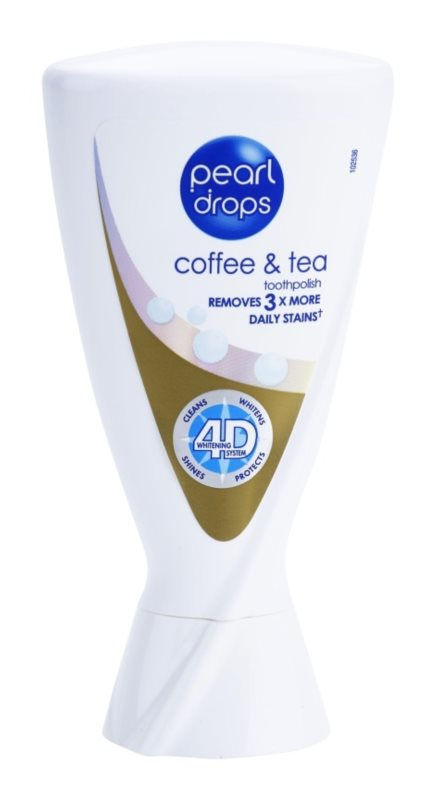 Pearl Drops Coffee & Tea Whitening Toothpaste To Treat Dark Spots