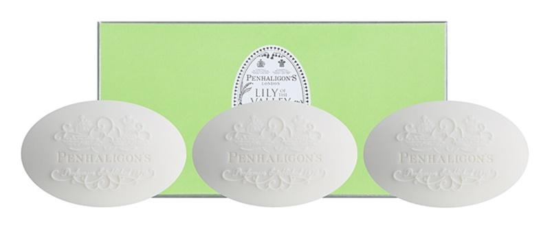 Penhaligon's Lily of the Valley parfémované mýdlo pro ženy 3 x 100 g