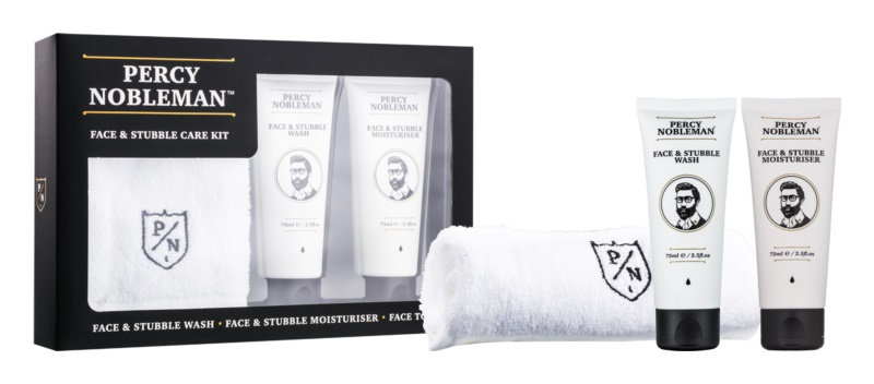 Percy Nobleman Face & Stubble Cosmetic Set I.