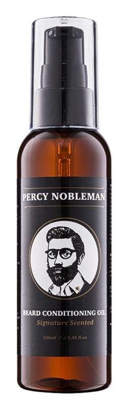Percy Nobleman Beard Care vyživujúci olejový kondicionér na fúzy
