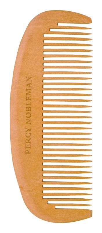 Percy Nobleman Beard Care drevený hrebeň na fúzy