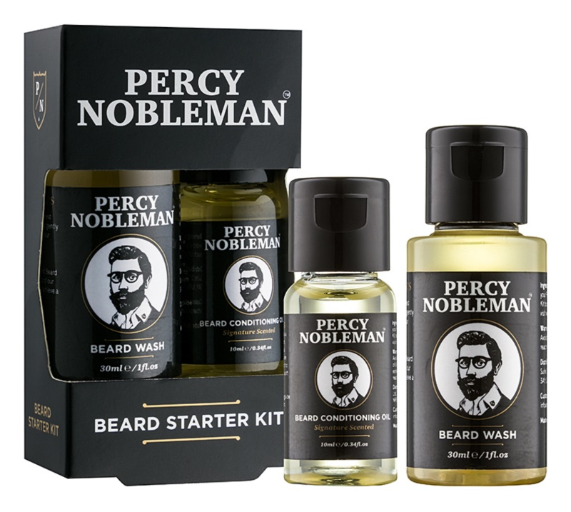 Percy Nobleman Beard Starter Kit Cosmetic Set I.
