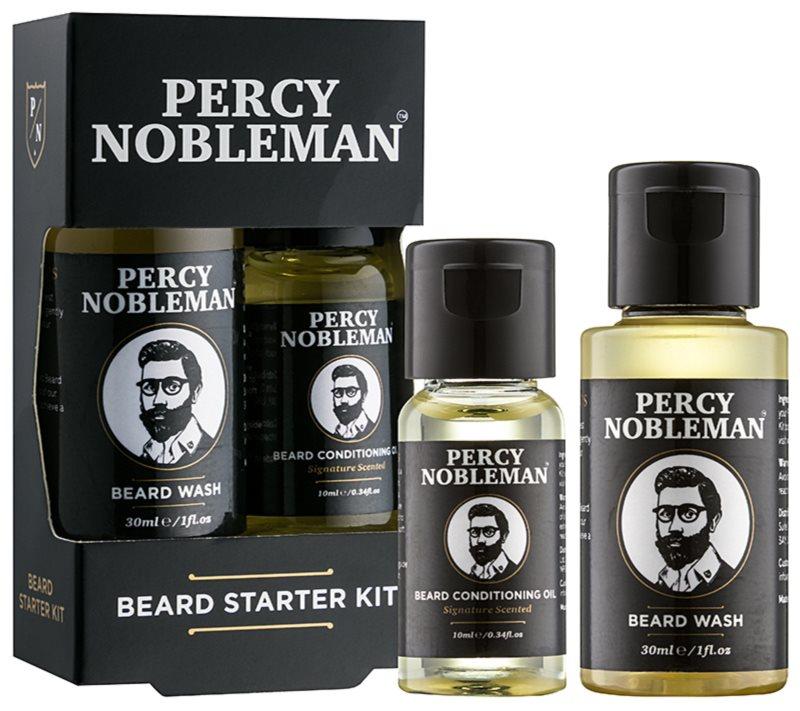 Percy Nobleman Beard Starter Kit lote cosmético I.