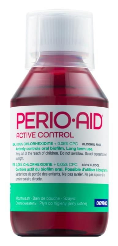 Perio•Aid Active Control Mundwasser für gesundes Zahnfleisch nach einer Parodontosebehandlung