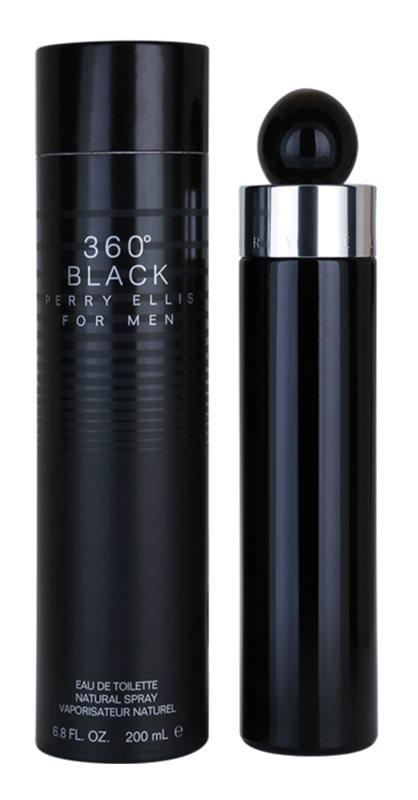 Perry Ellis 360° Black woda toaletowa dla mężczyzn 200 ml