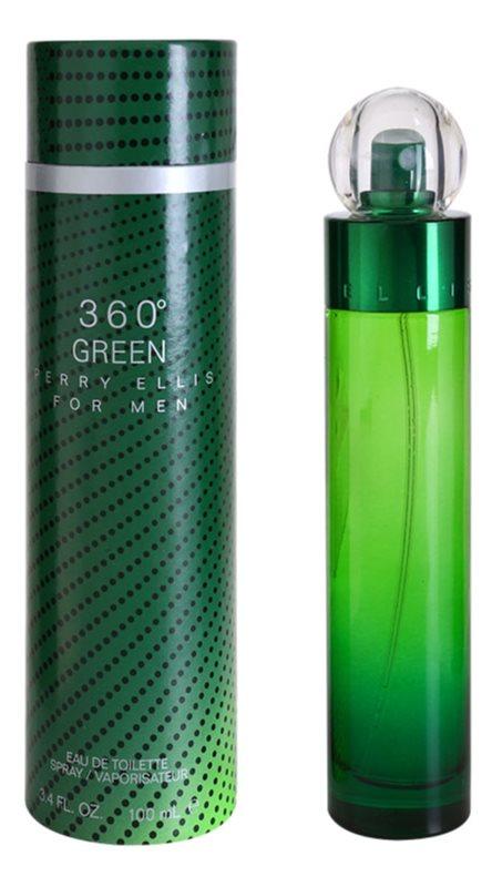 Perry Ellis 360° Green Eau de Toilette für Herren 100 ml