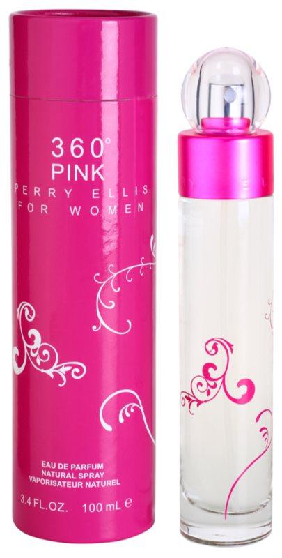 Perry Ellis 360° Pink Eau de Parfum for Women 100 ml